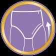 Huggies +pannolino mutandina + extra care mutandina + indicatore di bagnato + micropori + barriere