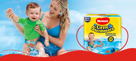 Huggies+ pannolino costumino+ Little Swimmers